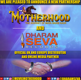The Motherhood Movie partner with Dharam Seva Records