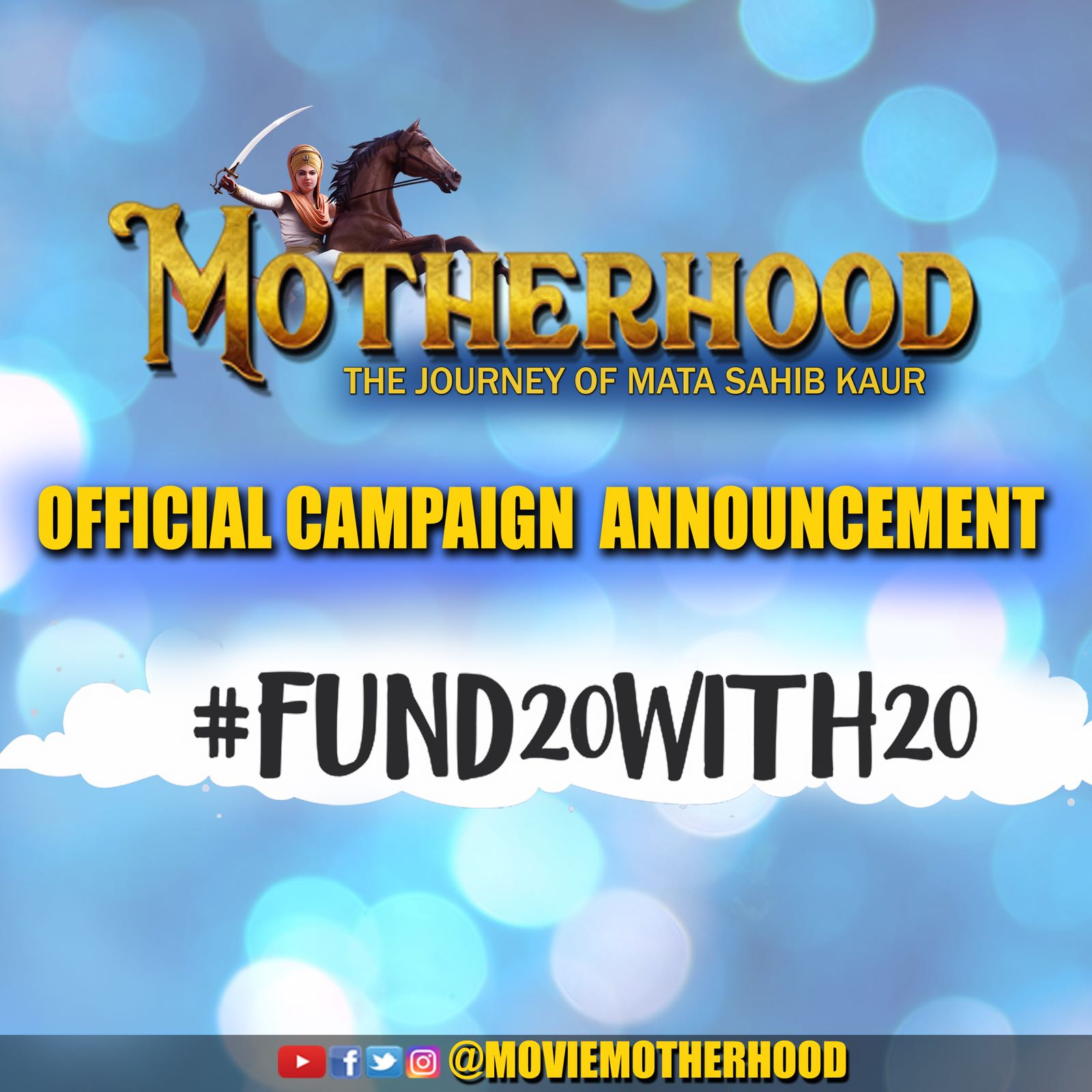 Hashtag #Fund20With20