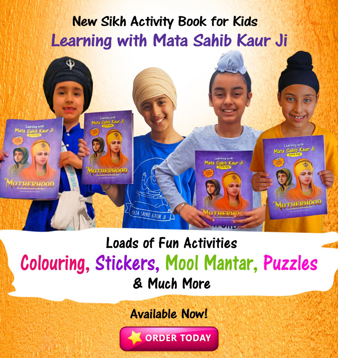 The activity book you can't afford to miss!